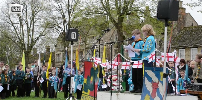 St Georges Day Parade 2015